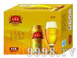 金盛豪玛咖养生啤酒10°P