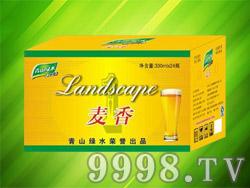 青山绿水啤酒麦香风味330ml(箱)