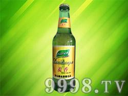 青山绿水啤酒麦香风味330ml