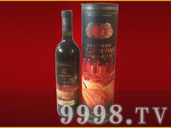金色海岸橡木桶窑藏干红葡萄酒