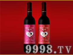 金色海岸天赐良缘高级干红葡萄酒