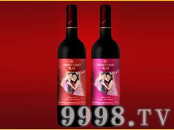 金色海岸特酿喜庆干红葡萄酒