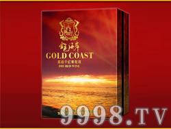 金色海岸高级干红葡萄酒金装礼盒