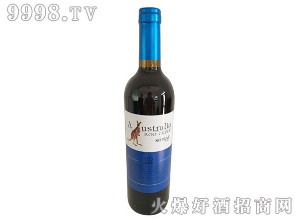 飞奔袋鼠赤霞珠红葡萄酒