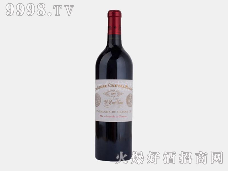 白马酒庄正牌2007干红葡萄酒