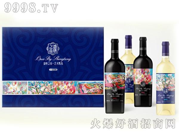 盛唐之音四支盒装葡萄酒-红酒招商信息
