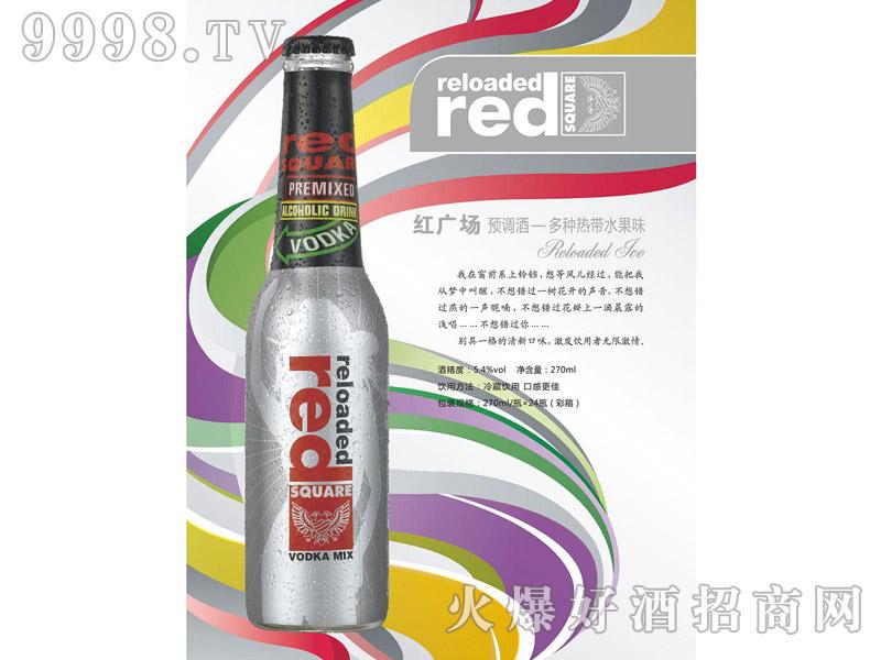 红广场预调酒・多种热带水果味