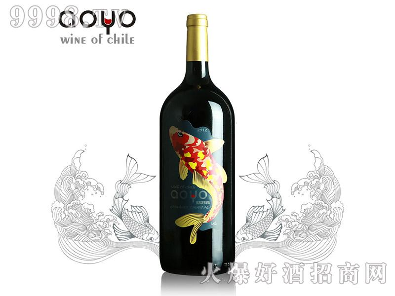 智利傲鱼珍藏赤霞珠红葡萄酒1.5L-红酒类信息
