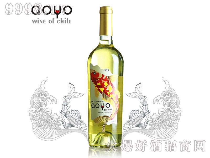智利傲鱼珍藏霞多丽干白葡萄酒