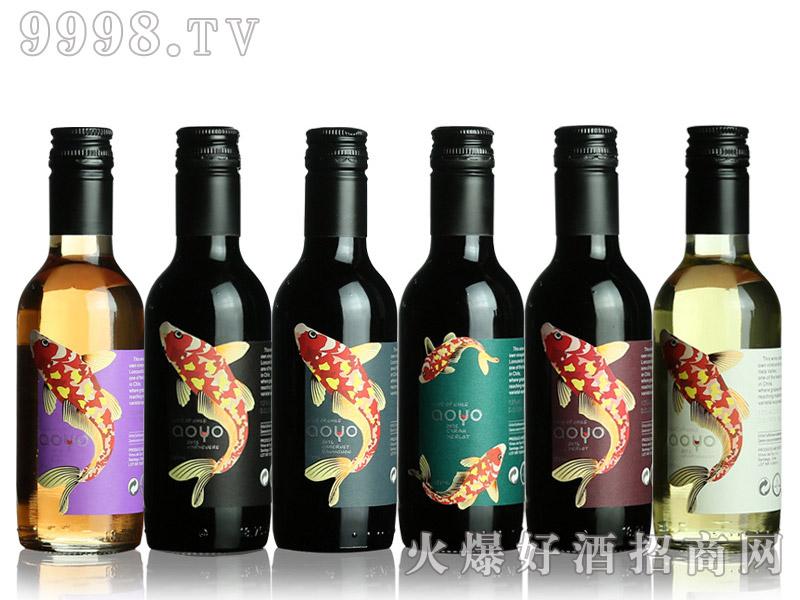 智利傲鱼红酒187ml