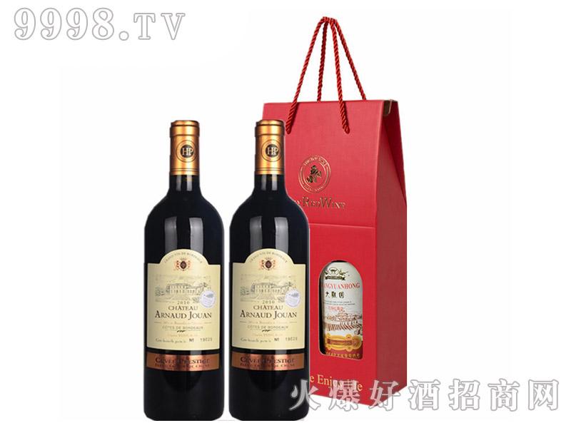 法国进口干红葡萄酒(红酒礼盒)