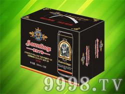 恺伦丁格啤酒500ml×12听(黑啤)