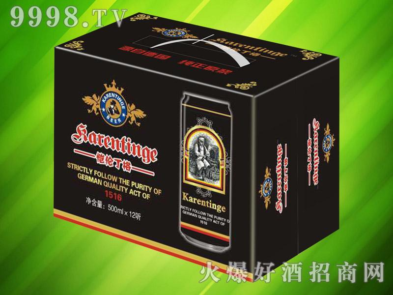 恺伦丁格千赢国际手机版500ml×12听(黑啤)