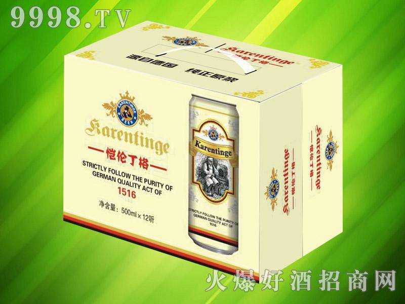 恺伦丁格千赢国际手机版500ml×12听(白啤)