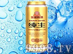 金星啤酒纯生500ml
