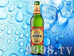 金星原浆啤酒新一代8°520ml(家庭装)