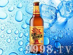 金星原浆啤酒10°520ml