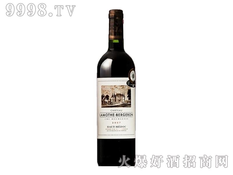 法国原瓶进口波尔多AOC-拉莫宝爵龙干红葡萄酒