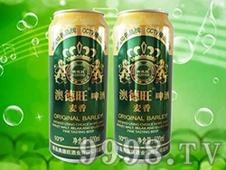 奥德旺啤酒麦香啤酒500ml