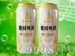 澳德旺啤酒健威小麦王白罐500ml