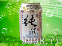 澳德旺纯生风味啤酒330ml