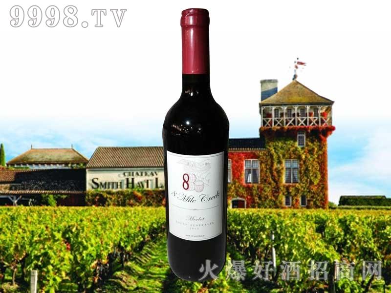 八英里河梅洛干红葡萄酒