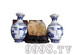 敬牌窖酒(蓝花瓷)