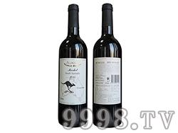 (袋鼠)澳赛诗2013梅洛干红葡萄酒
