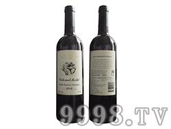(考拉)澳赛诗2014赤霞珠梅洛干红葡萄酒