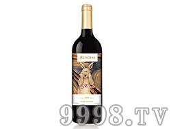 (兔子)澳赛诗2015西拉子干红葡萄酒