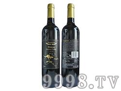 澳赛诗2014巴罗萨谷西拉子干红葡萄酒