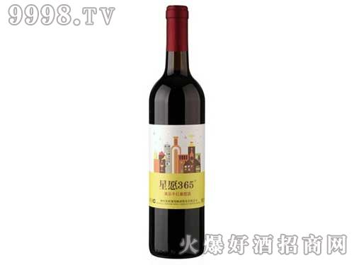 星愿365美乐干红葡萄酒750ml