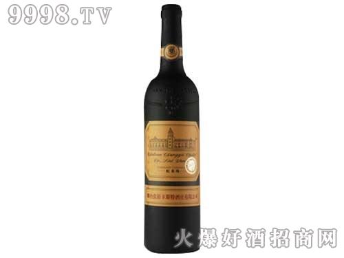 烟台张裕卡斯特酒庄蛇龙珠干红葡萄酒750ml