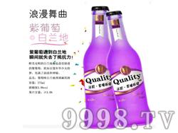 冰肌・紫瞳妖娆紫葡萄鸡尾酒