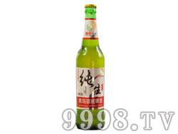 青岛银威纯生啤酒(红色经典)500ml