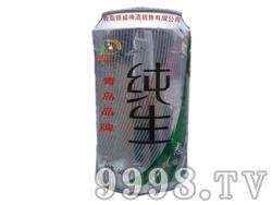 青岛纯生啤酒500ml