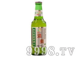 青岛银威亲爽清爽啤酒330ml