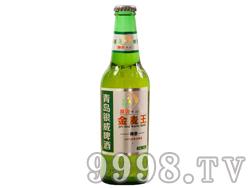 青岛银威亲爽金麦王啤酒330ml