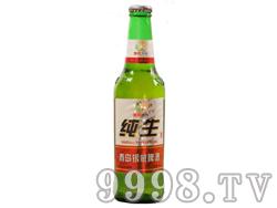 青岛银威亲爽纯生啤酒330ml