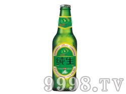 纯生啤酒绿瓶320ml