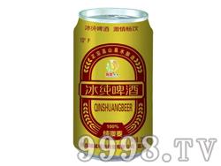 纯澳麦冰纯啤酒325ml