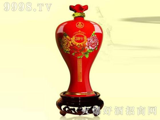香芝喷涂彩瓶XZ-173封坛酒
