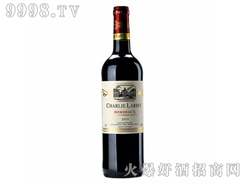 莱特波尔多红葡萄酒Charlie Larret