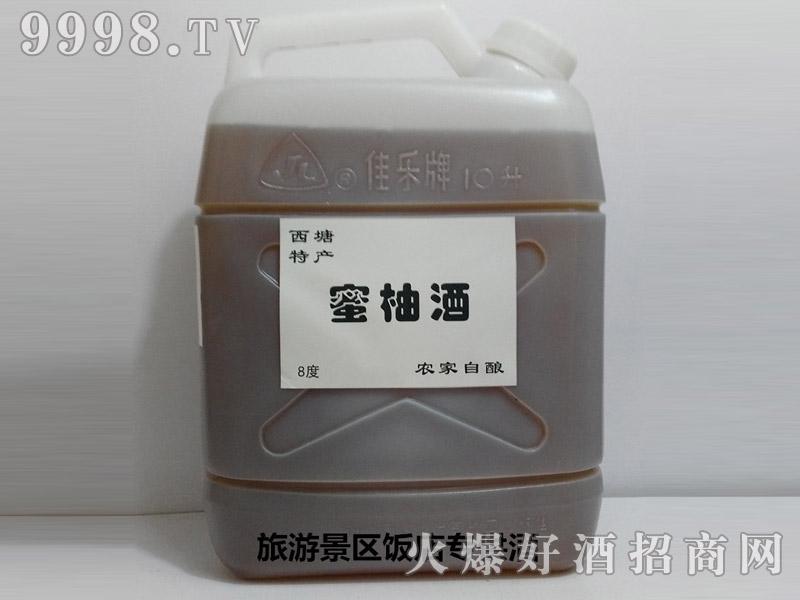 西塘特产-农家自酿蜜柚酒散装10斤