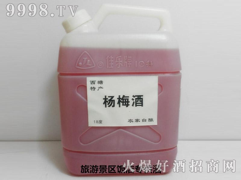 西塘特产-农家自酿杨梅酒散装10斤