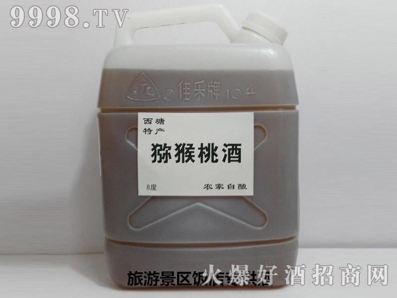 西塘特产-农家自酿猕猴桃酒散装10斤