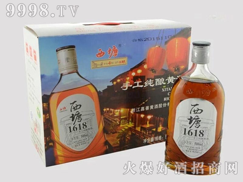 西塘黄酒1618手工纯酿黄酒-银标-礼盒黄酒