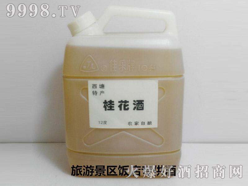 西塘特产-农家自酿果酒散装优质桂花酒