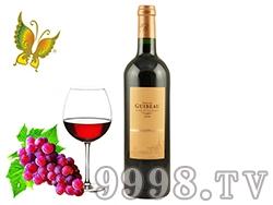 法国卡班庄园歌佰2008红酒