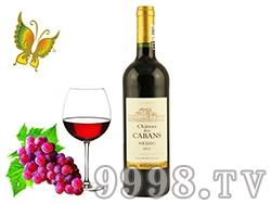 法国卡班红酒